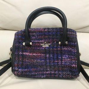 HP🎉 Kate Spade Emerson Place Tweed Crossbody  Bag